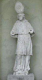 Picture: St Augustine, stone figure