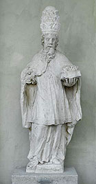 Picture: St Sixtus, stone figure