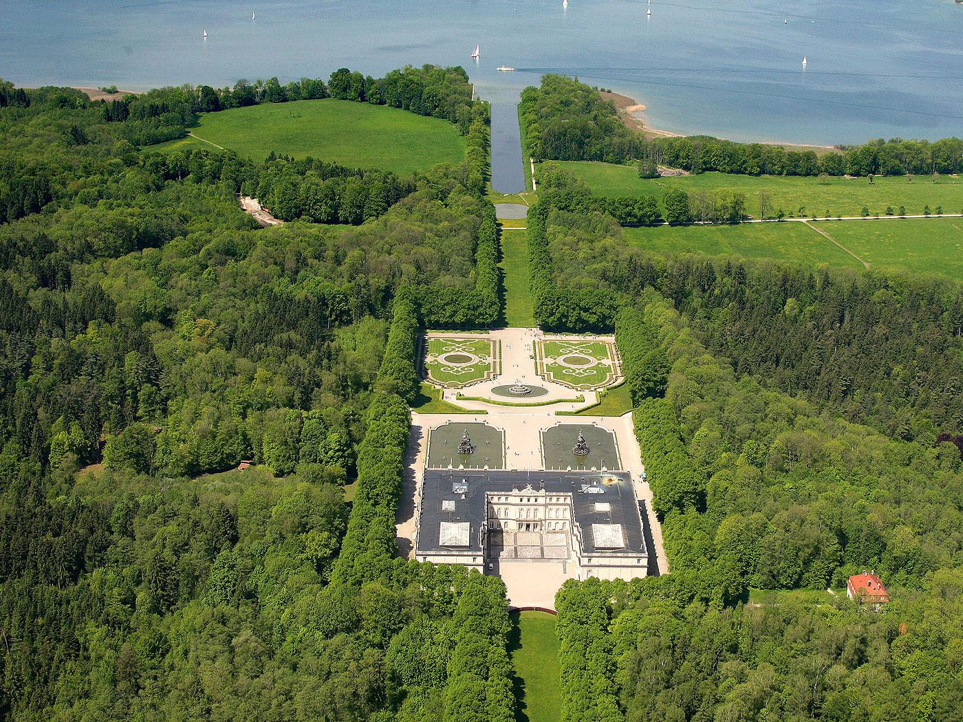 Bayerische Schlosserverwaltung Schloss Und Park Herrenchiemsee Neues Schloss Rundgang