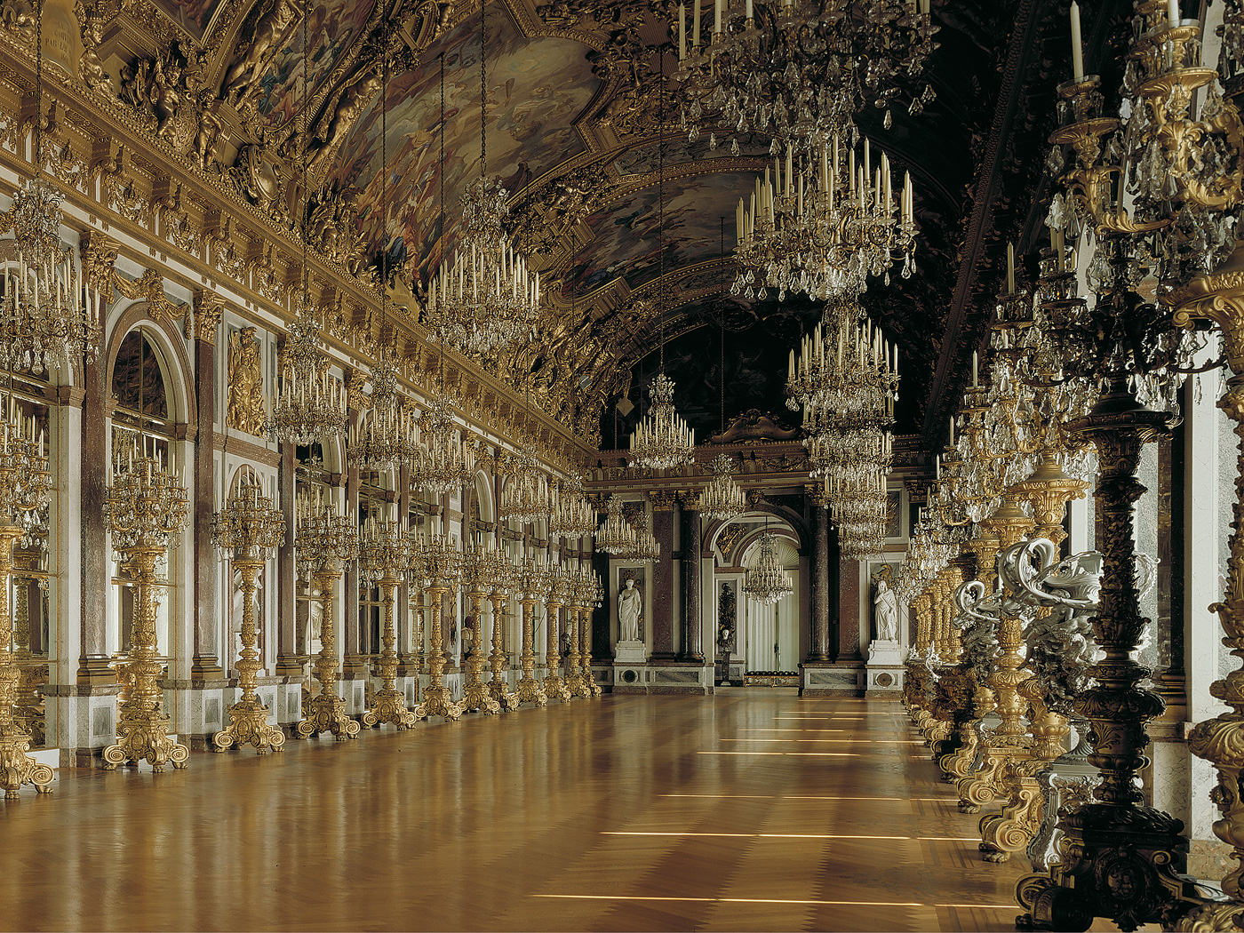 Bavarian Palace Department   Herrenchiemsee Palace And Park   New Palace    Palace Tour