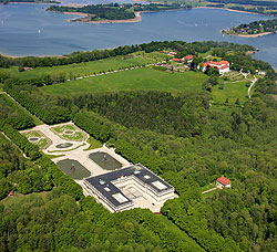 Picture: Aerial picture of Herrenchiemsee Island